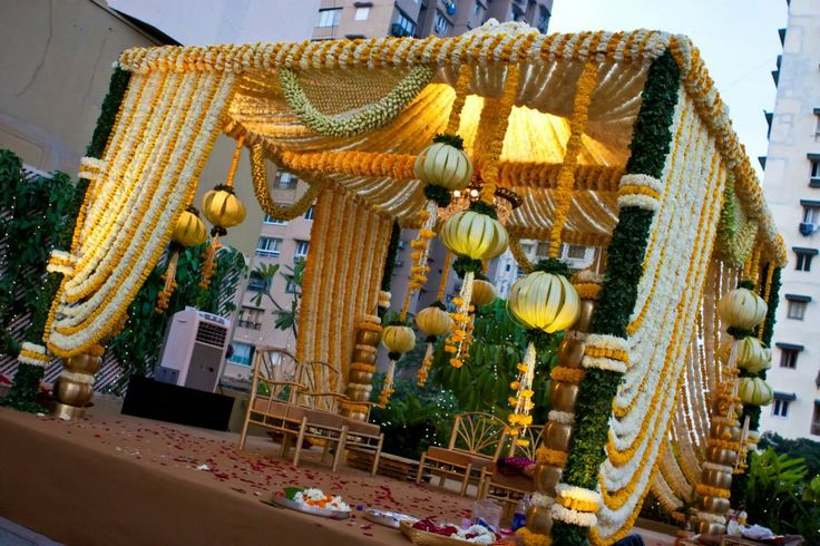 South Indian Wedding Mandap Decoration Pictures